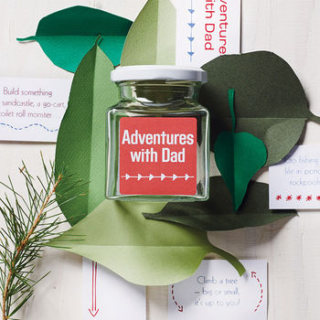 'Adventures With Dad' Jar