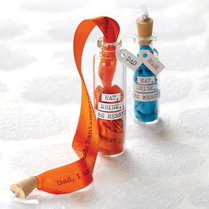 Message In A Bottle Christmas Tree Decoration - home accessories