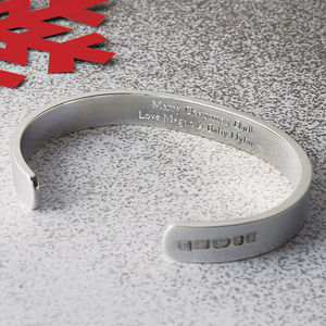 Men's Solid Silver Bracelet - view all gifts for him