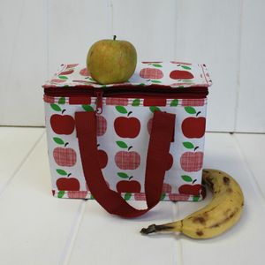 Thermal Apple Lunch Bag