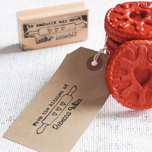 'From The Kitchen Of' Personalised Stamp - view all gifts for him