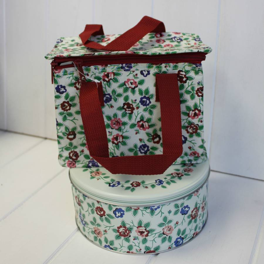 Thermal Rambling Rose Lunch Bag