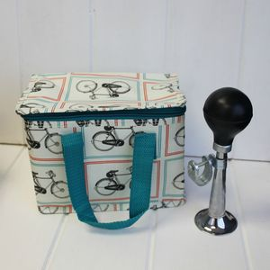 Insulated Bicycle Lunch Bag - storage bags