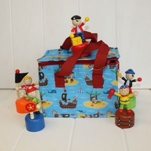 Insulated Pirate Lunch Bag - lunch boxes & bags