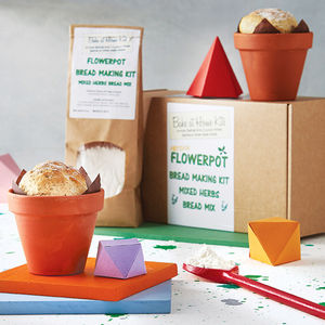 Flowerpot Bread Making Kit - aspiring chef