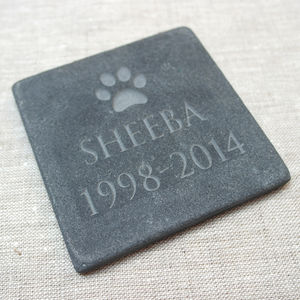 Personalised Pet Slate