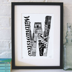 Best Of Walthamstow Screenprint