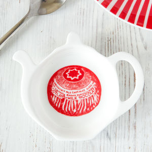 'Tunnock's Teacake' China Teabag Tidy - kitchen