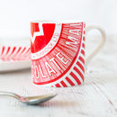 'Tunnock's Teacake Wrapper' China Coffee Cup