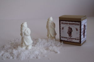Father Christmas Soaps Set Of Two - health & beauty