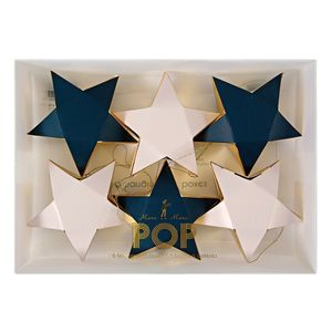 Star Ornament Decorations And Boxes - wrapping