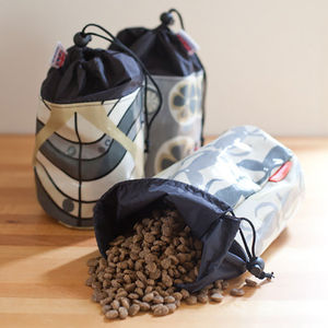 Dog Food Storage Pouch
