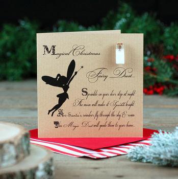 Magic Fairy Dust Childrens Christmas Card