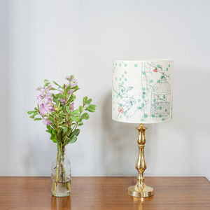 Dotty Bird Luxury Lampshade - lampshades