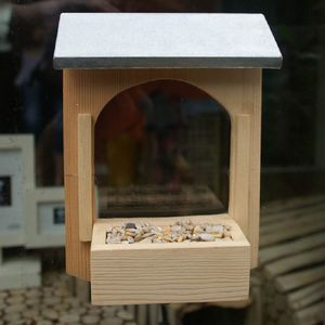 Build Your Own Bird Feeder In A Tin - birds & wildlife