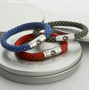 Personalised Chequered Boing Bands - men's jewellery