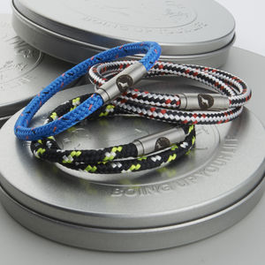 Personalised Wrap Boing Bands - men's jewellery