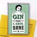 Personalised Gin Fridge Magnet Stocking Filler