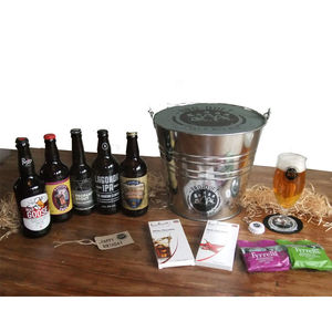 Five Bottle Real Ale Broquet - gifts for him