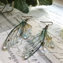 Rather Magical Large 'Faerie wing earrings'