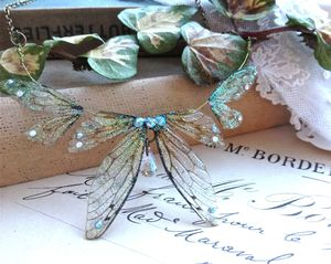 Delicate Faerie Winged Necklace - necklaces & pendants