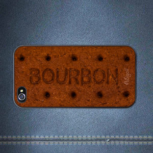 Bourbon Biscuit iPhone Case Personalised - phone covers & cases
