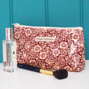 Make Up Bag William Morris Mallow Oilcloth