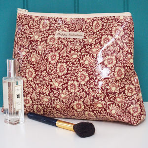 Wash Bag William Morris Mallow Oilcloth