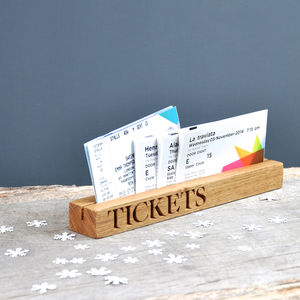 Ticket Holder - new home gifts