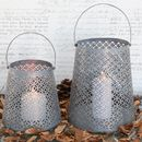 Zinc Hurricane Lanterns