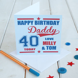 Personalised Daddy's Special Birthday Card