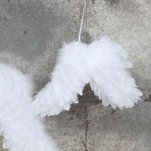 Decorative Feather Angel Wings - christmas home accessories