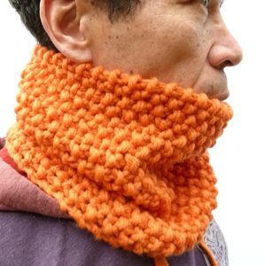 Handknitted Merino Wool Cowl - hats, scarves & gloves