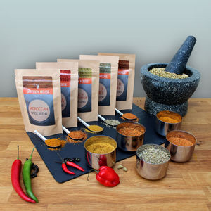 World Spice Blends Kit - make your own kits