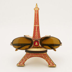 Eiffel Tower Wooden Glasses Holder