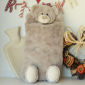 Teddy Hot Water Bottle Cover