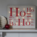 Christmas Illuminated Canvas