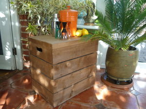 Vintage Style Double Crate - side tables