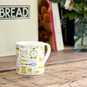Baking Delight Tea Towel And Mug Gift Set - kitchen accessories