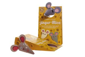 Funny Little Finger Mice - baby & child