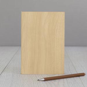 Wood Slab Journal