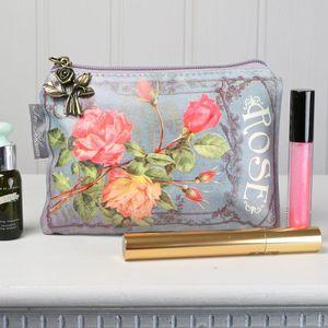 In Bloom Rose Make Up Bag