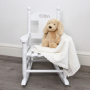Personalised Child's Rocking Chair - baby's room