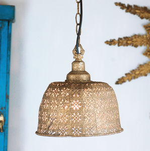Moroccan Ceiling Pendant Light - office & study