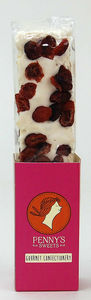 Cranberry Nougat - chocolates & confectionery