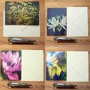 Set Of Four Original Art Greeting Cards