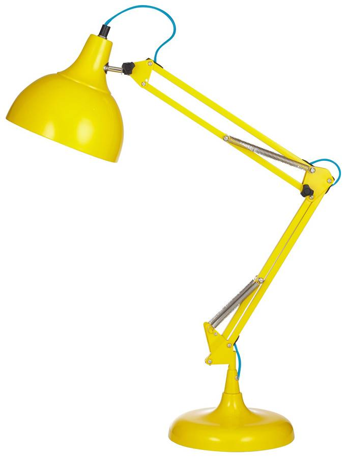 Acid Yellow Desk Lamp. acid yellow desk lamp by the forest   co   notonthehighstreet com
