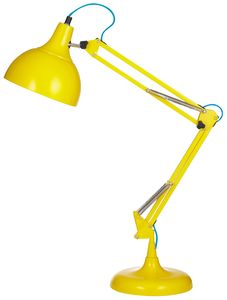Acid Yellow Desk Lamp