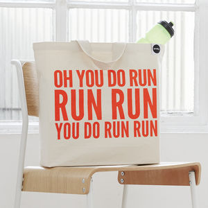 'You Do Run Run' Running Bag - gifts under £25 for her