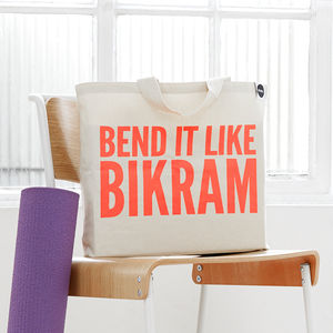 'Bend It Like Bikram' Gym Bag